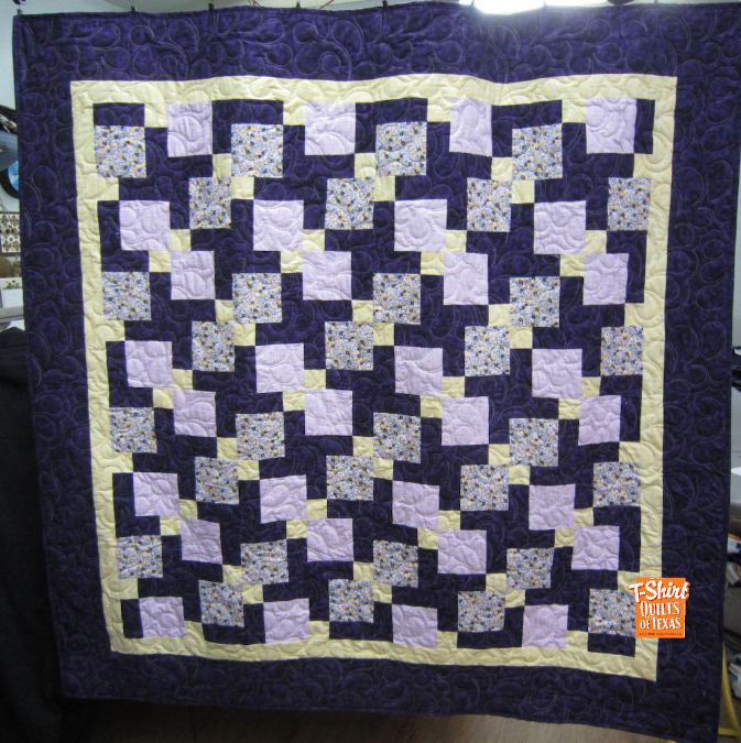 photo gallery for custom quilts and tshirt pillows